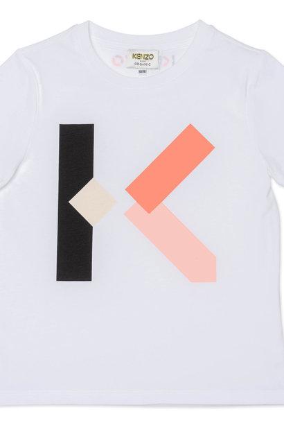 KENZO KIDS t -shirt à manches courtes en coton