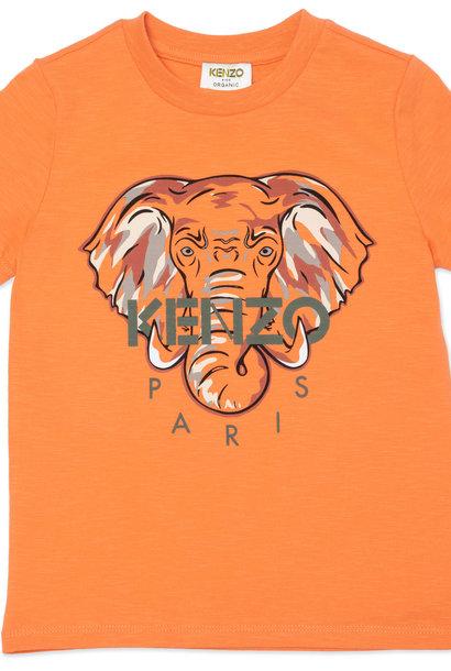 KENZO KIDS t-shirt en coton avec imprimé