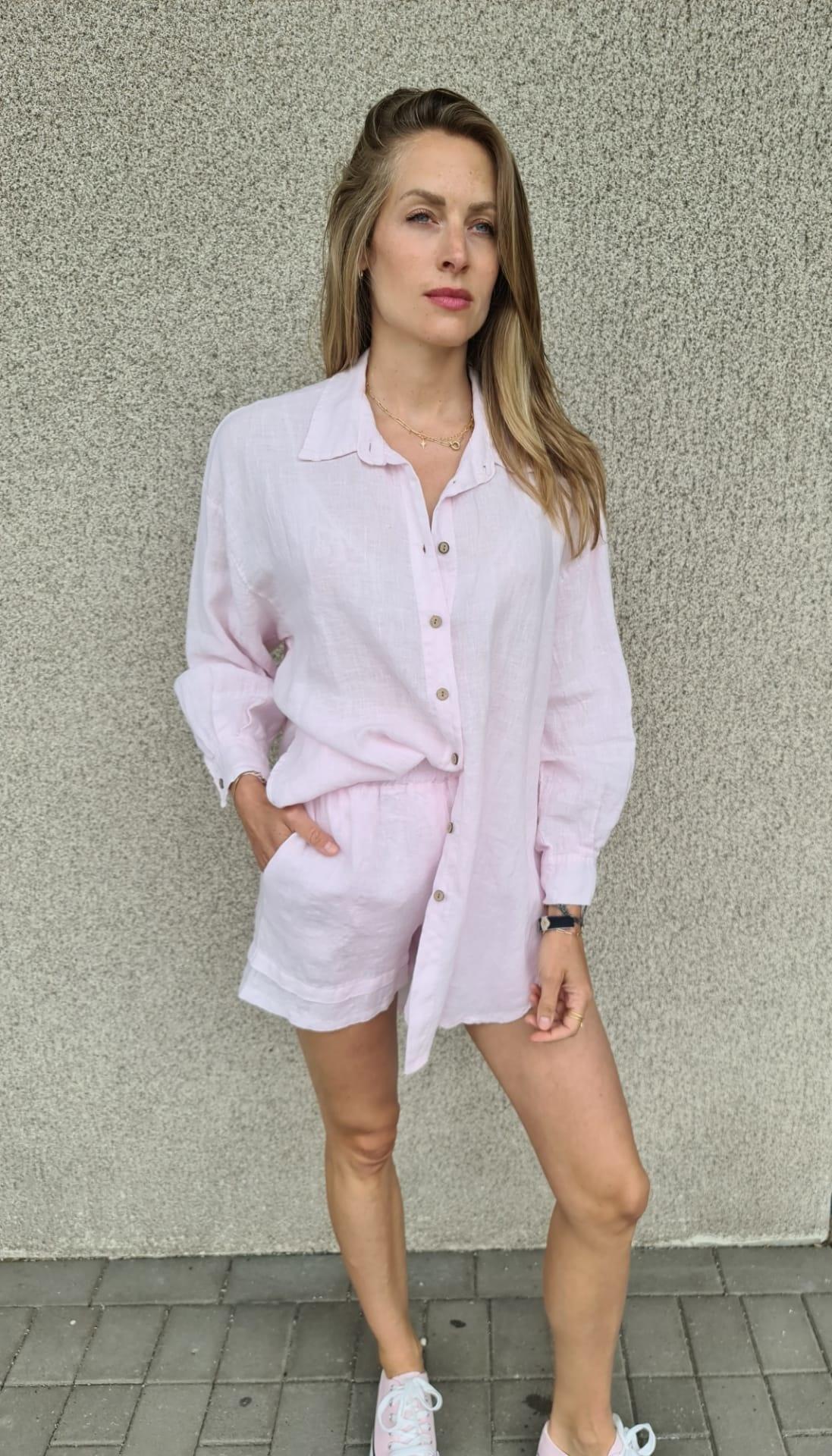 VINAY chemise en lin-1