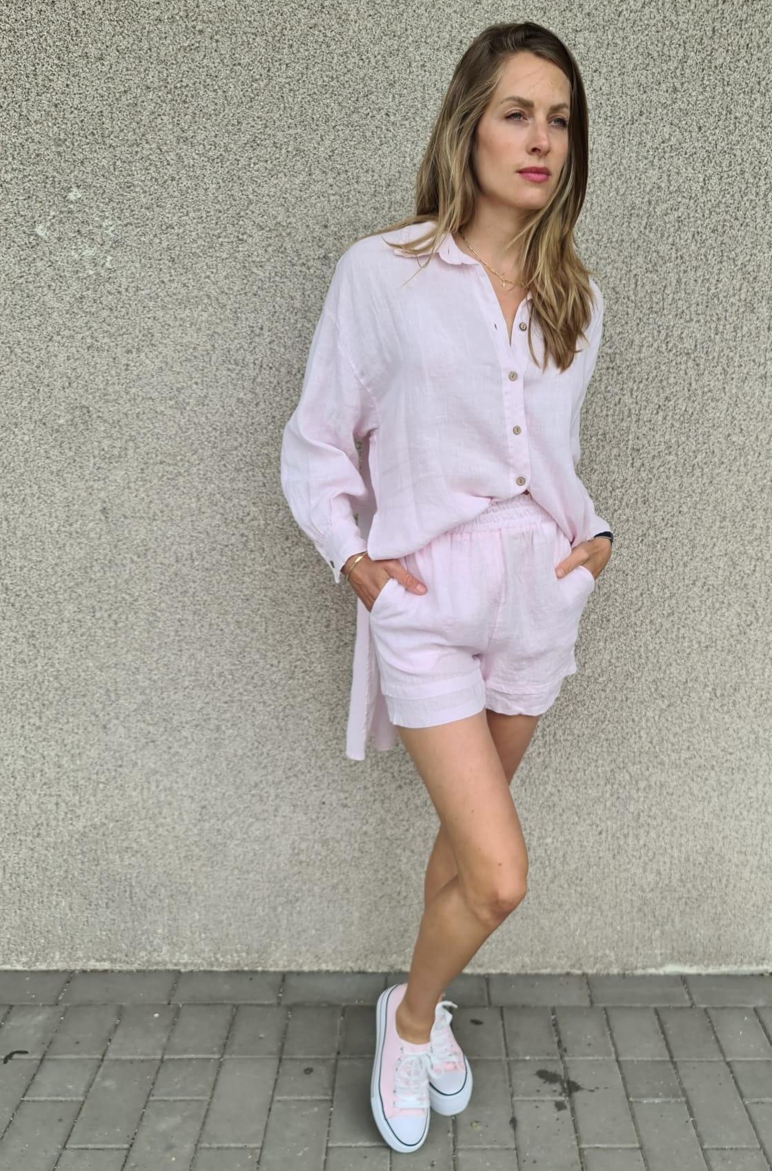 VINAY chemise en lin-2
