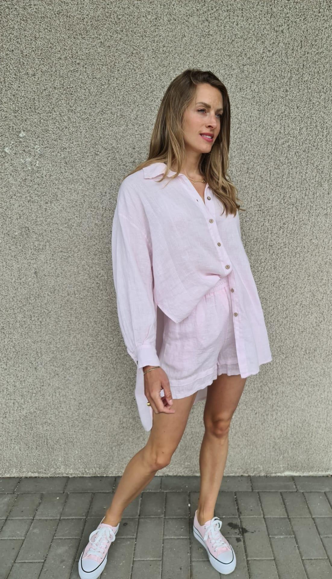 VINAY chemise en lin-4