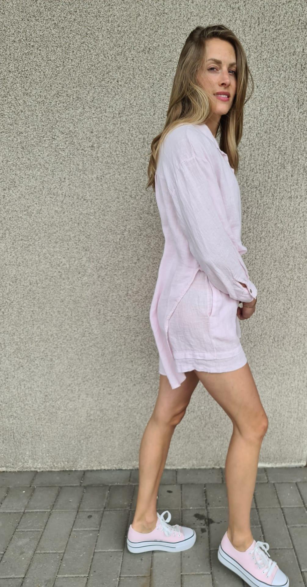 VINAY chemise en lin-5