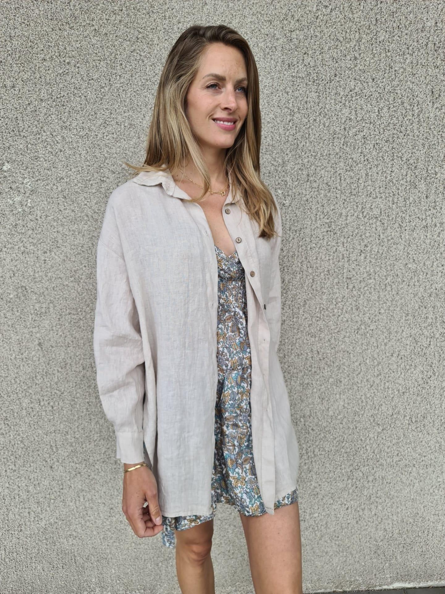 VINAY chemise en lin-7