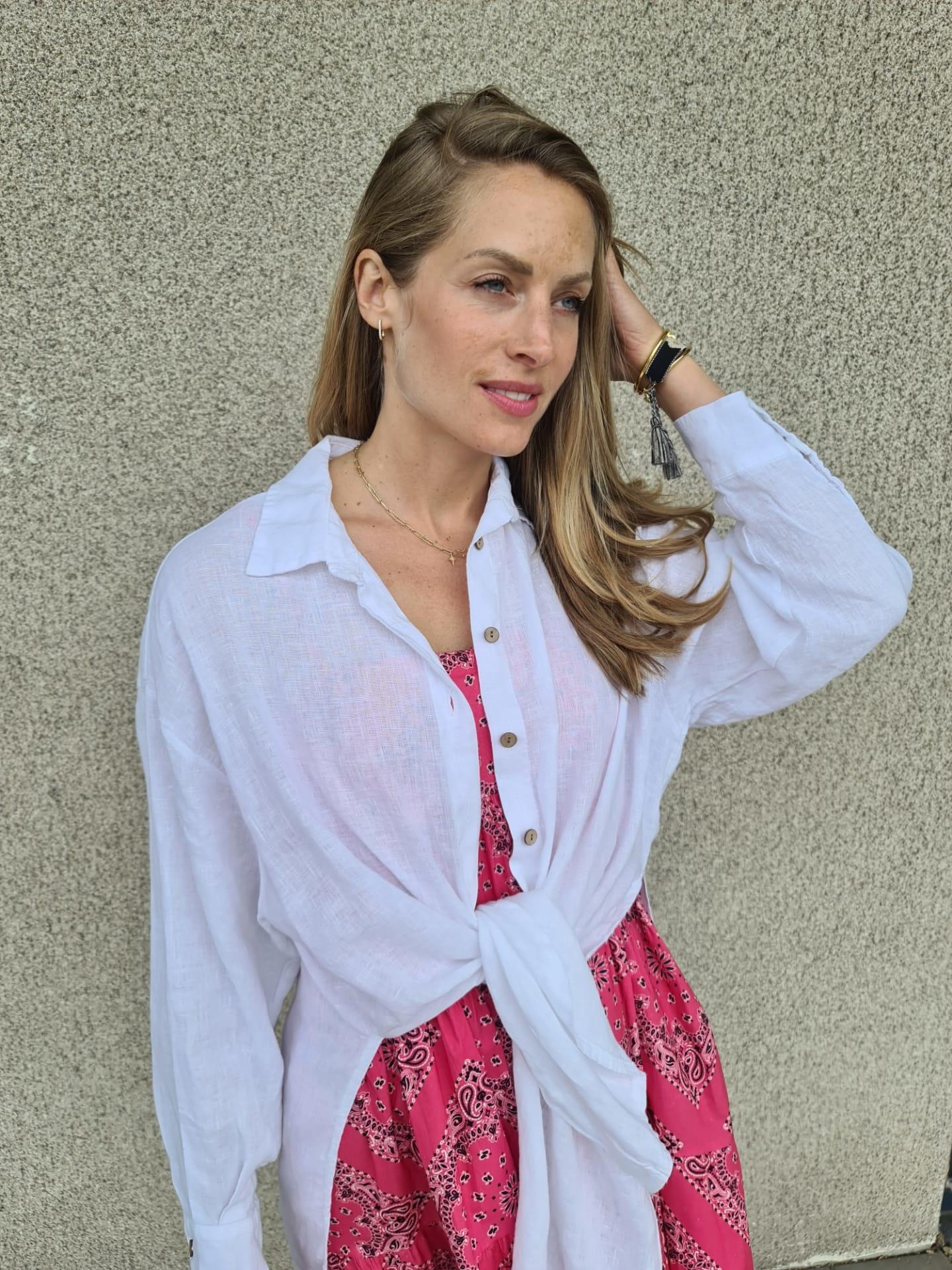 VINAY chemise en lin-8