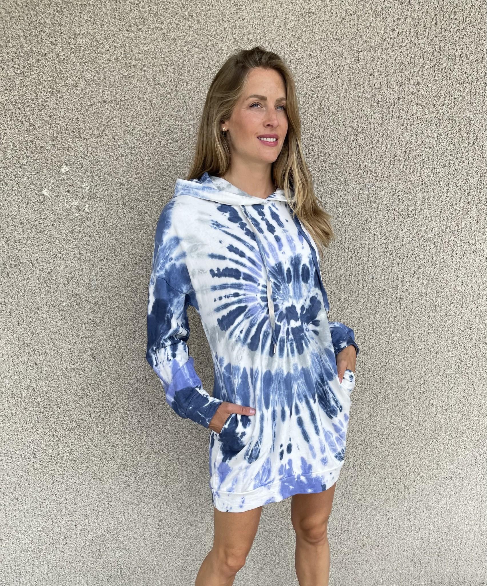 CHARLOTTE pull robe oversize à capuche-5