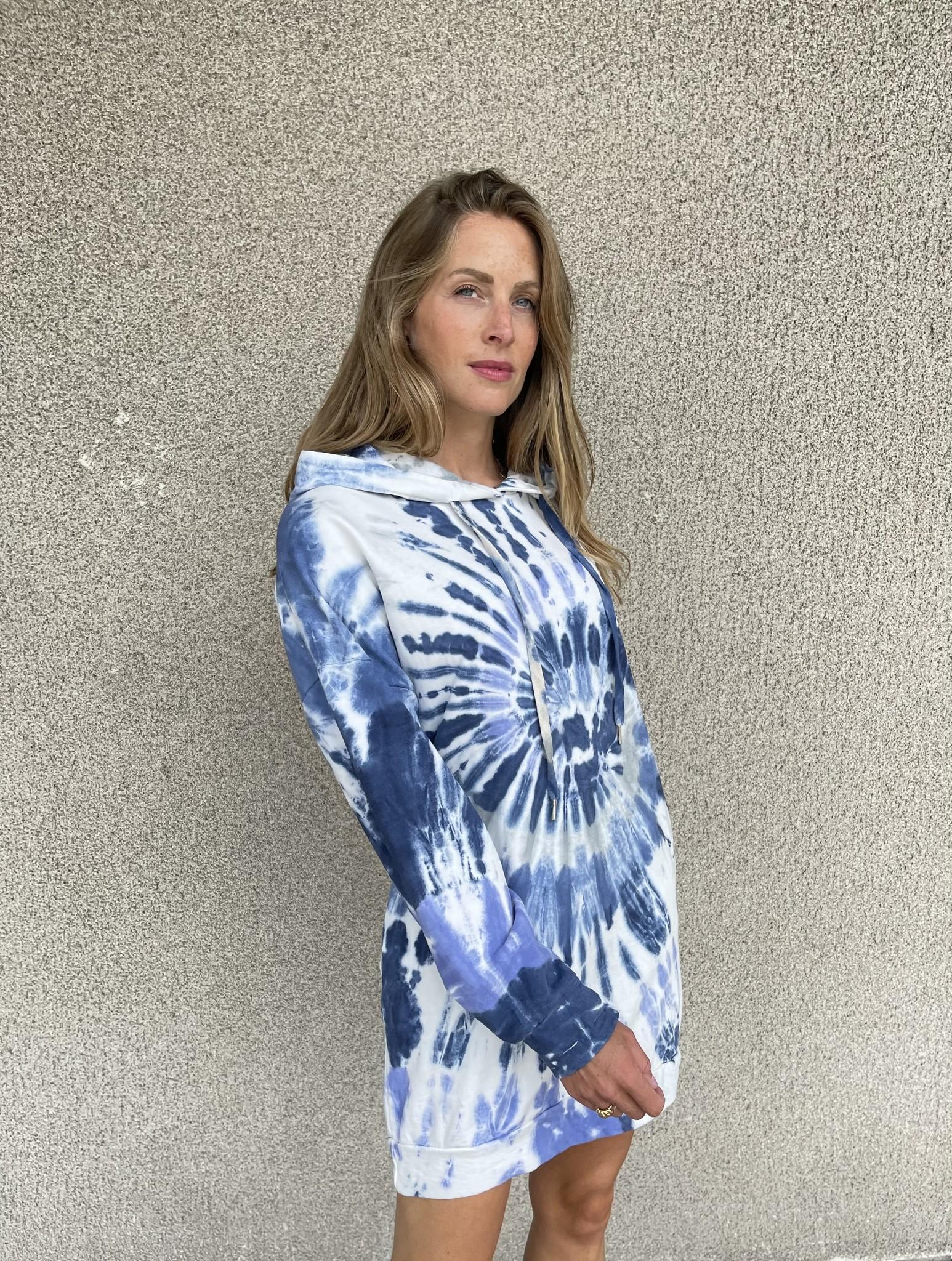 CHARLOTTE pull robe oversize à capuche-4