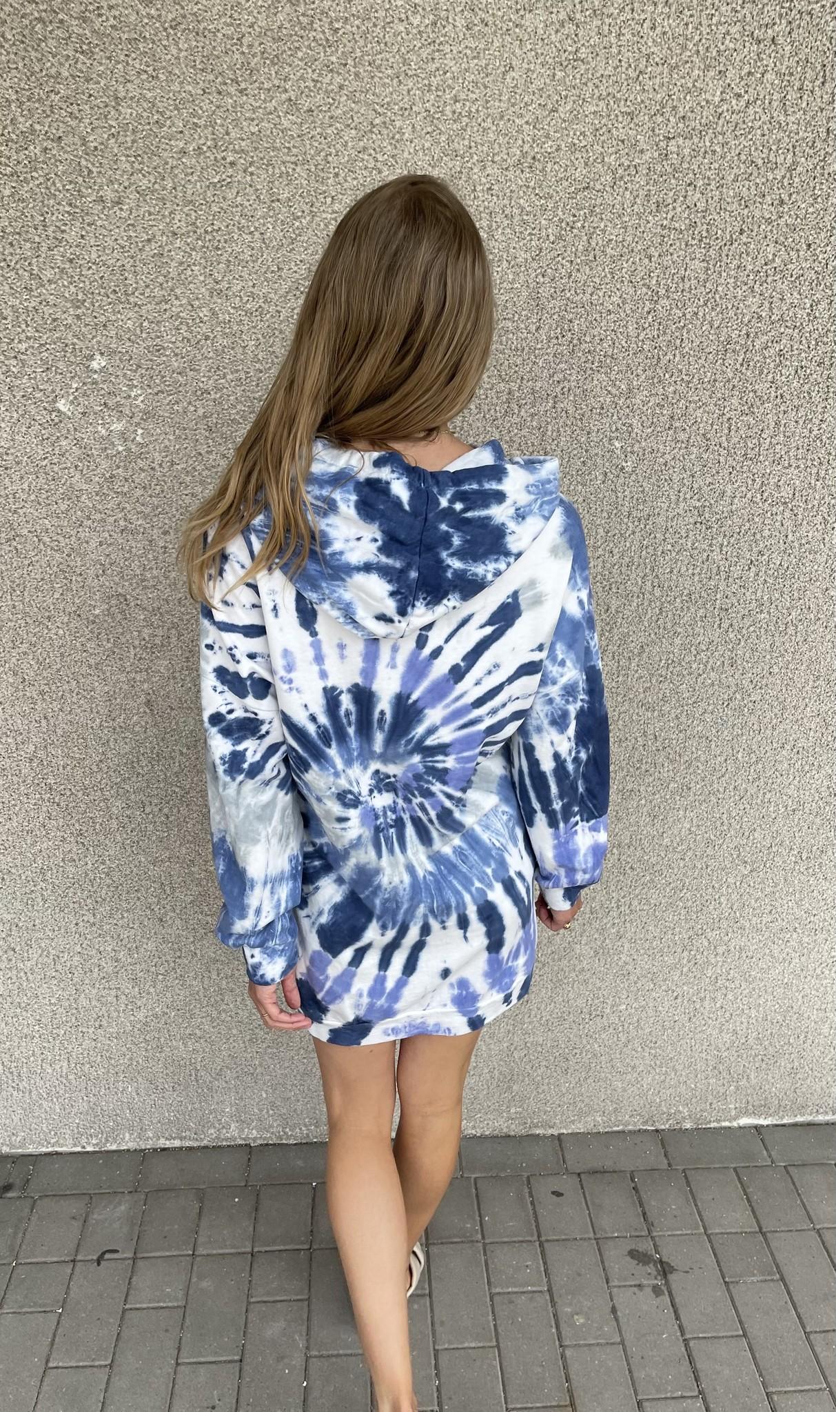 CHARLOTTE pull robe oversize à capuche-2