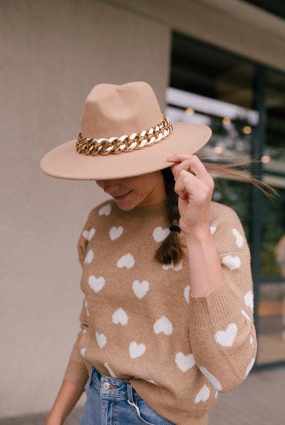 MOLLY chapeau beige