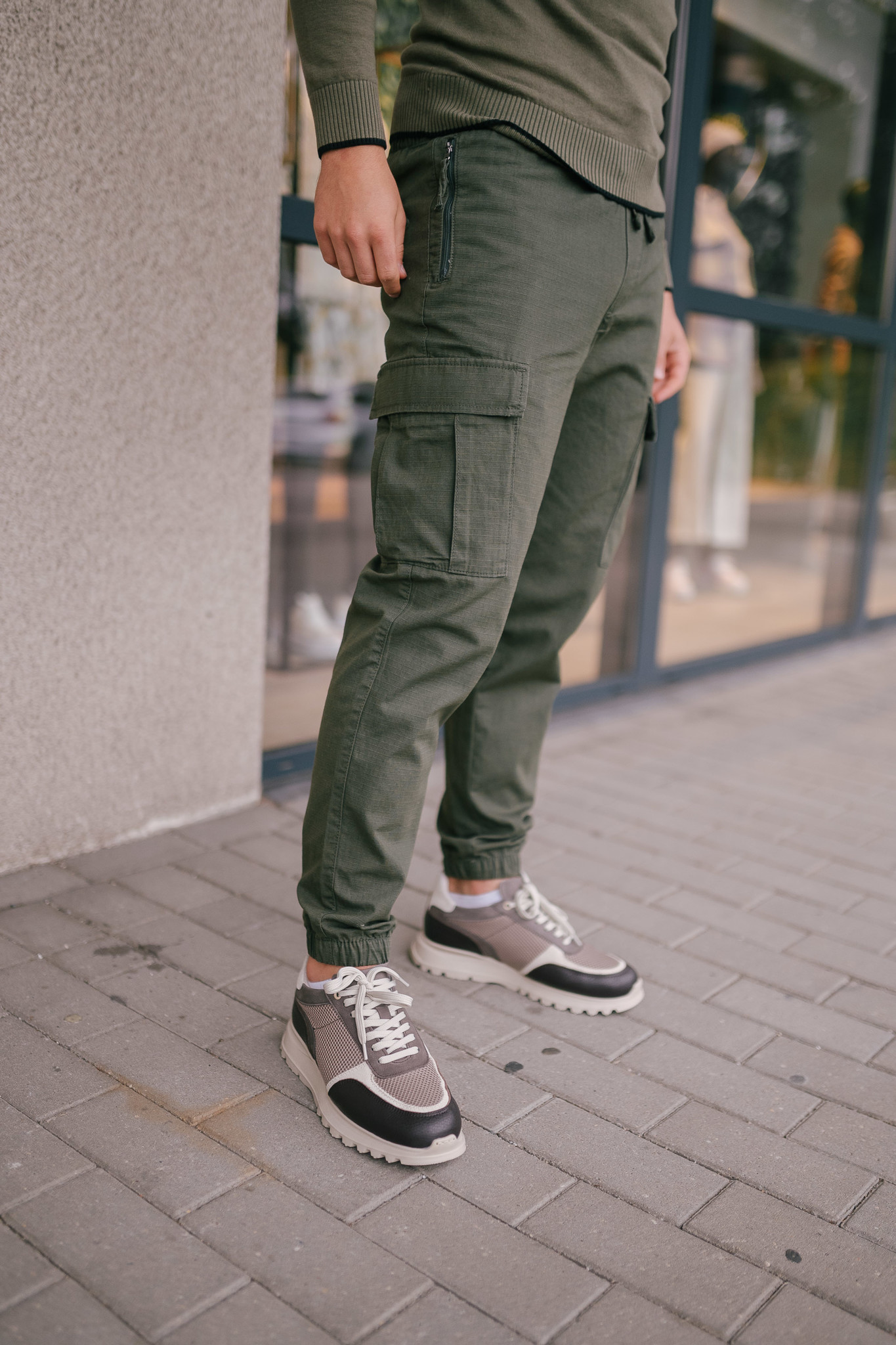 NIKO pantalon en coton biologique-4
