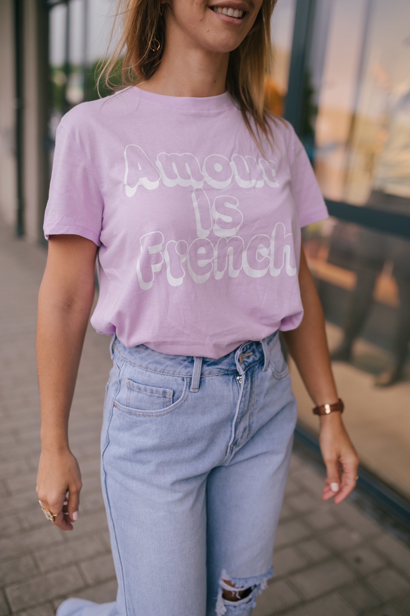 AMOUR IS FRENCH t-shirt-1