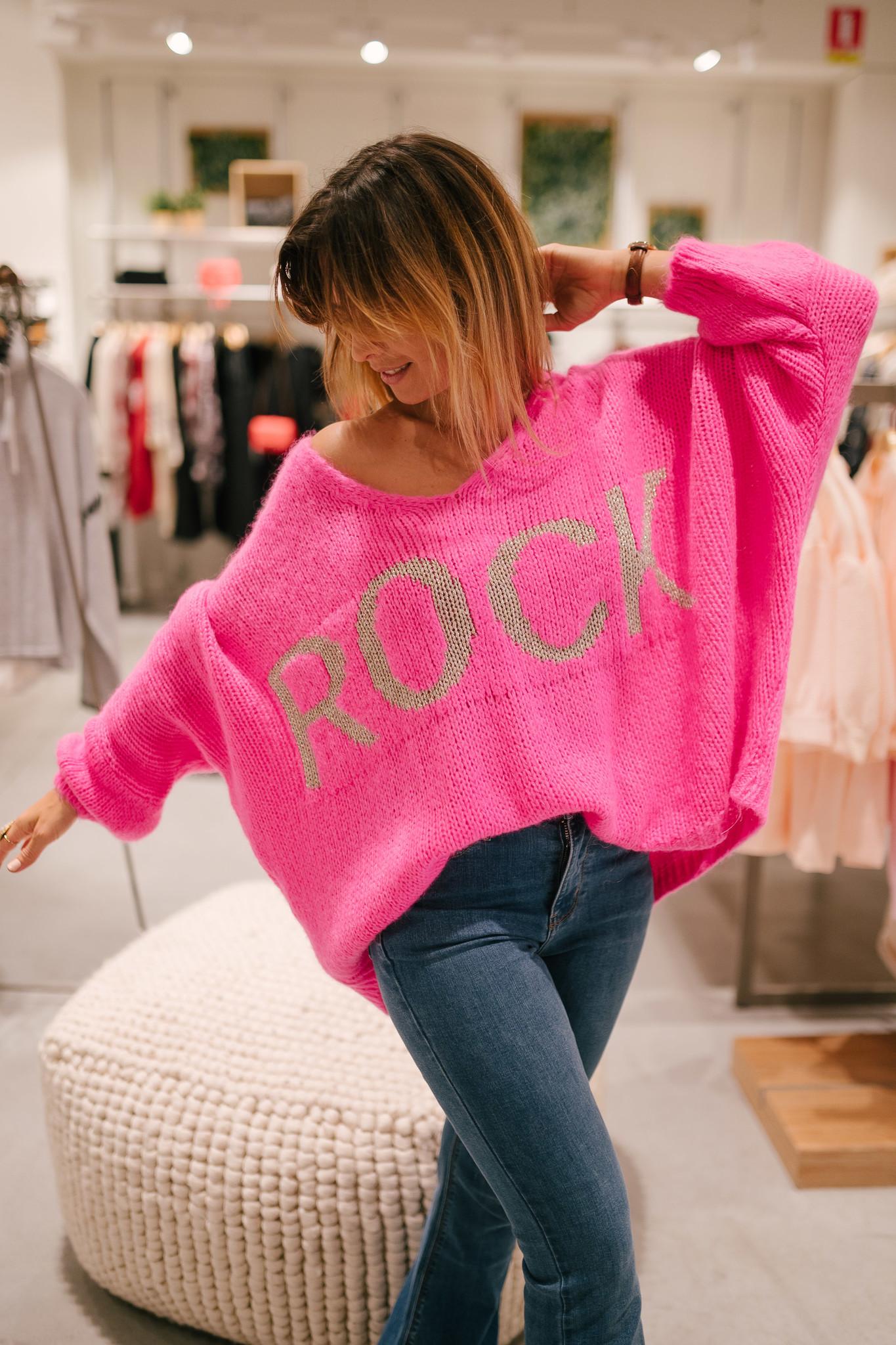 ROCK pull fuchsia-1