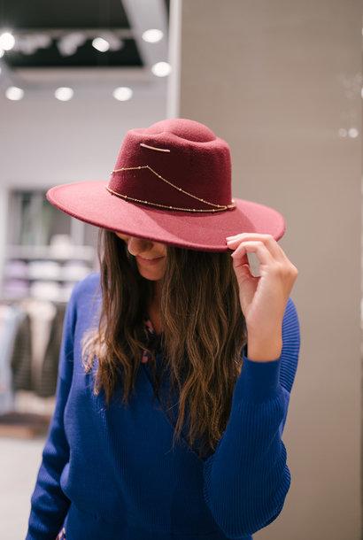 TOSCAN chapeau bordeaux