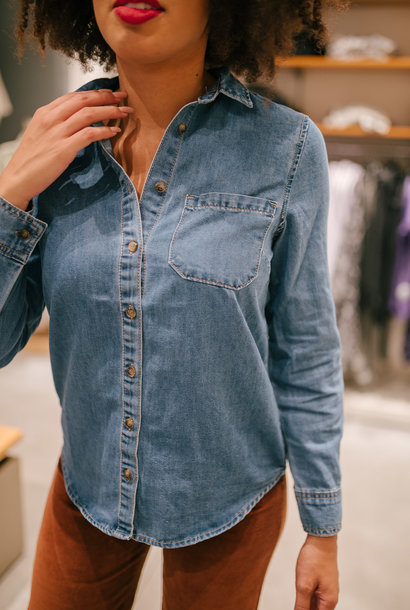 KRYS chemise en jeans