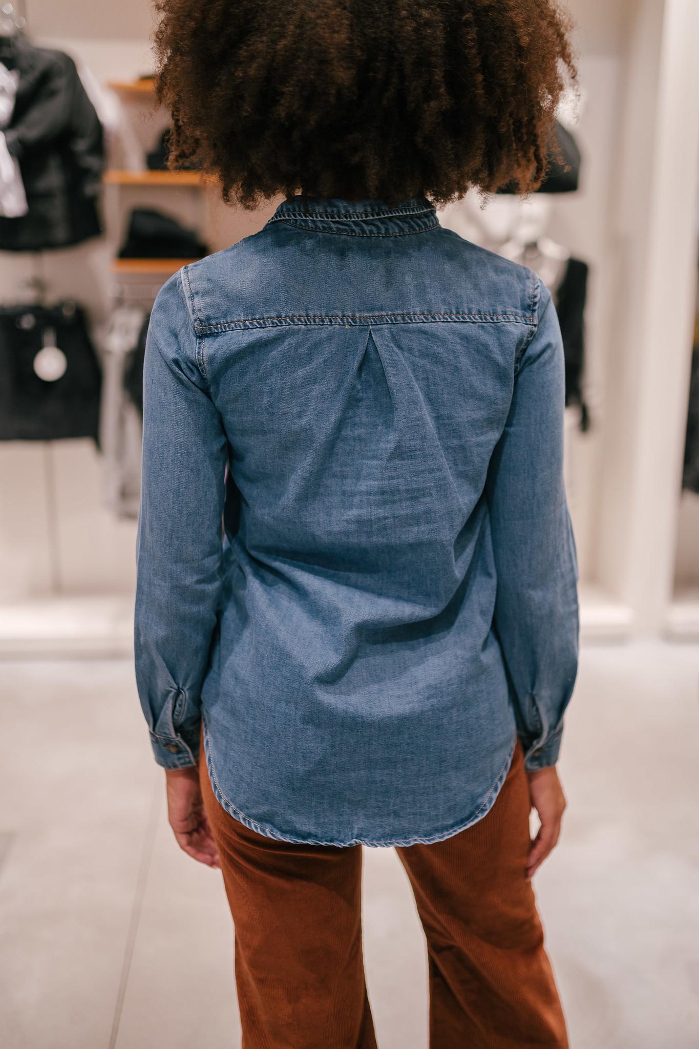 KRYS chemise en jeans-3