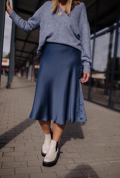 LEVY jupe bleu