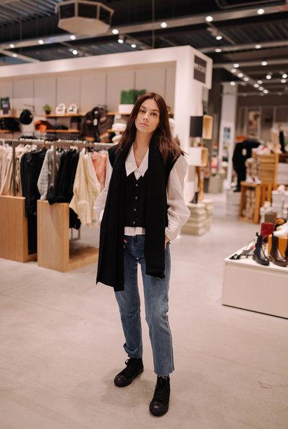 LEVY écharpe laine noir