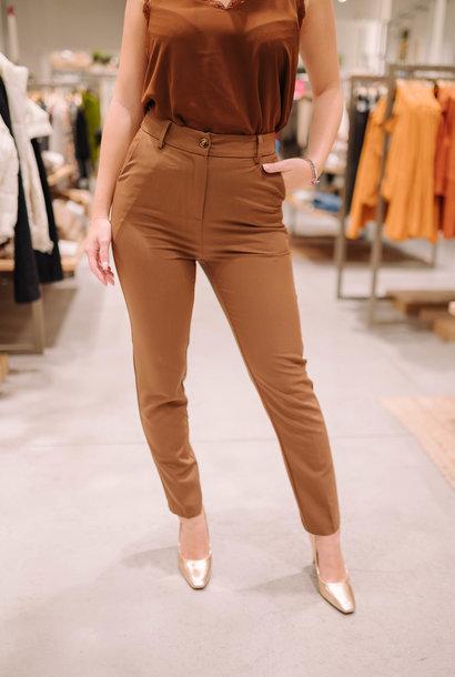 GUILIA pantalon chocolat