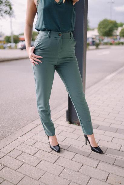GUILIA pantalon vert