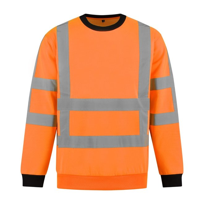 High Visibility RWS sweater Werkkleding.com