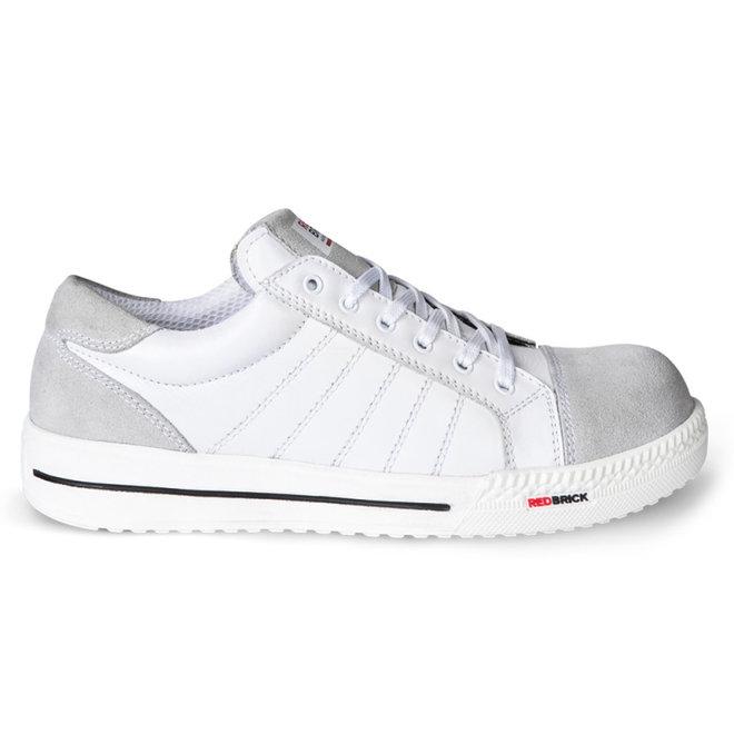 Witte werkschoen Branco S3 Redbrick