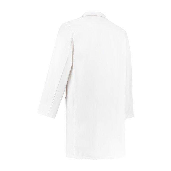 witte stofjas 100% katoen