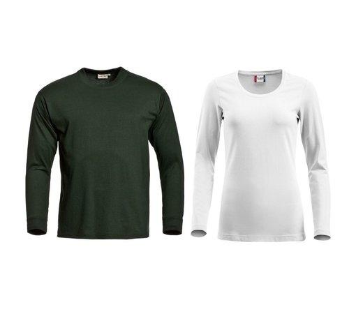 T-shirts en polo's met lange mouwen