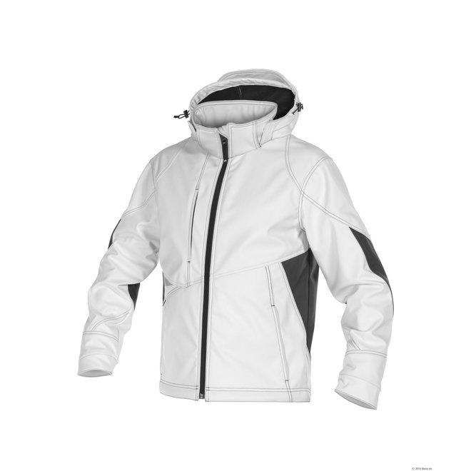 witte softshell jas Gravity Dassy