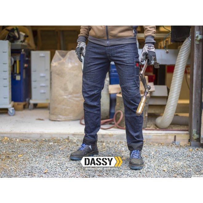Werkspijkerbroek stretch Osaka Dassy