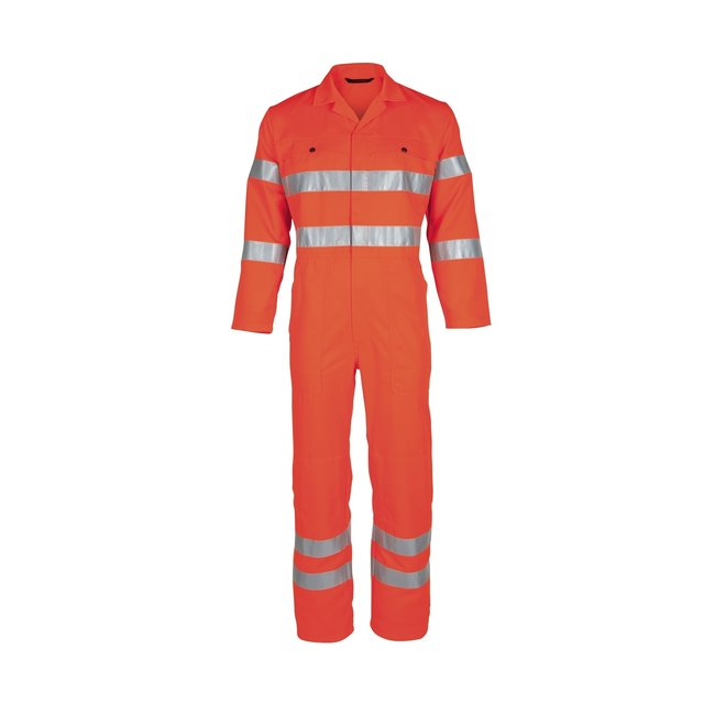 High Visibility oranje overall Havep