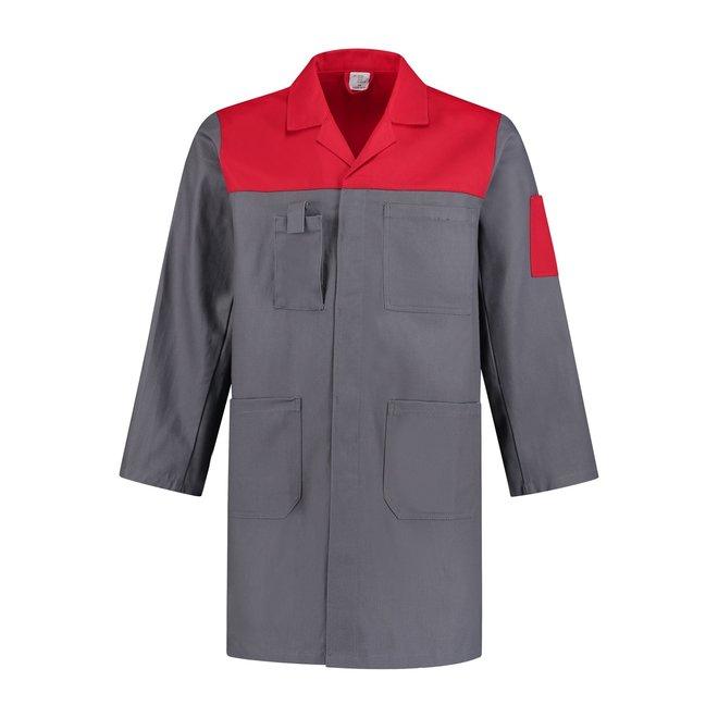 Katoenen stofjas tweekleurig werkkleding.com