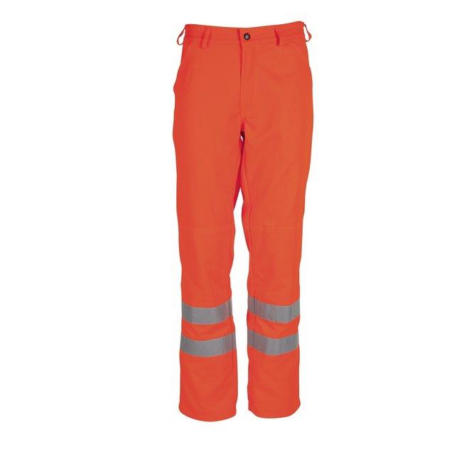 Oranje werkbroek Havep 8394