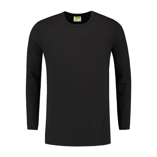 T-shirt met lange mouwen heren L&S