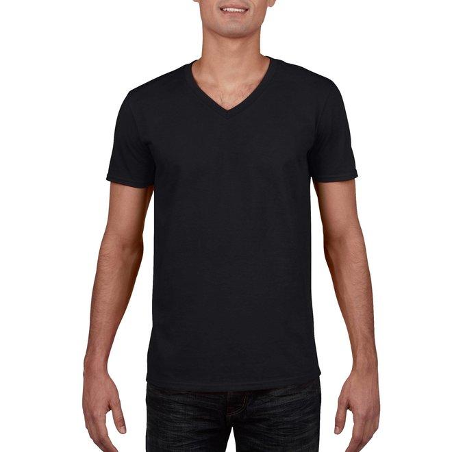 Gildan softstyle heren T-shirt V-hals