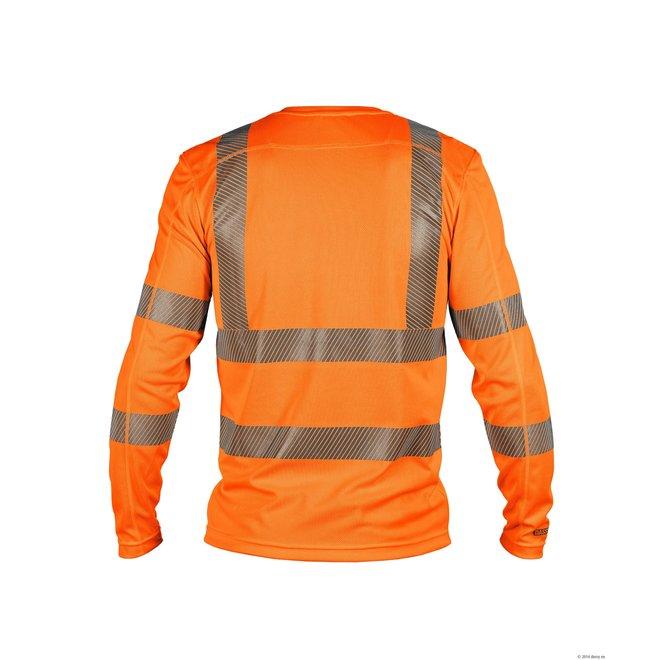 Dassy Carterville high vis T-shirt met lange mouwen