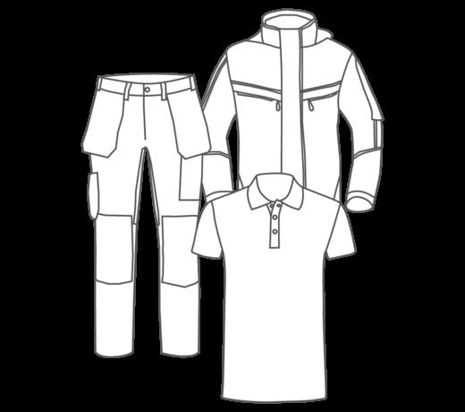 Alle werkkleding