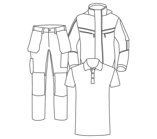 Alle werkkleding - Huismerk