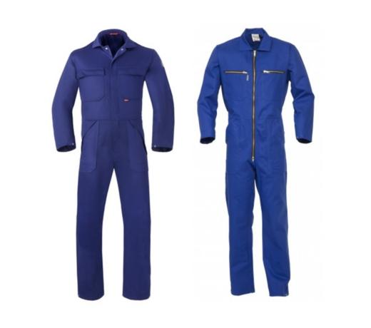 Assortiment katoenen overalls