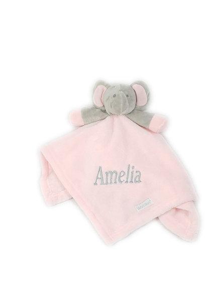 Pink Elephant Comfort Blanket