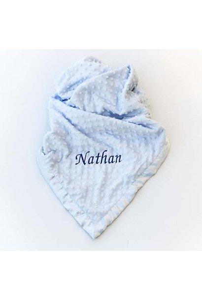 Baby Dimple Blanket Blue