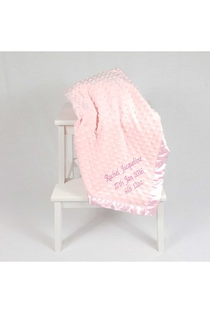 Baby Dimple Blanket Pink