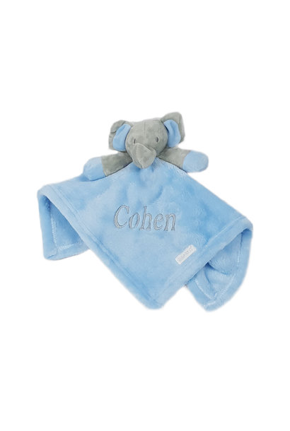 Blue Elephant Comfort Blanket