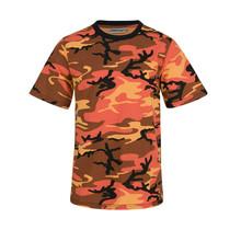 T-shirt Sunset camouflage