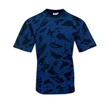 T-shirt Night camouflage Blue