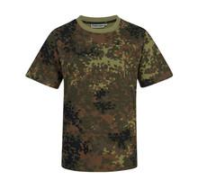 T-shirt Flecktarn camouflage