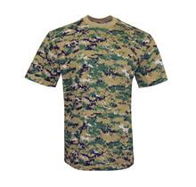 T-shirt Woodland digital camouflage