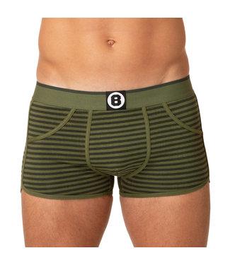Bolas Underwear Green Stripes