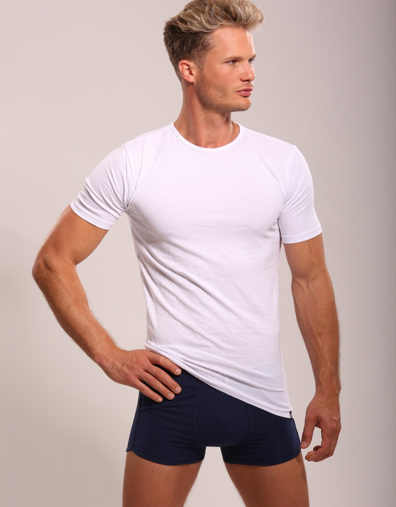 Bolas Underwear Tee-White CREWNECK