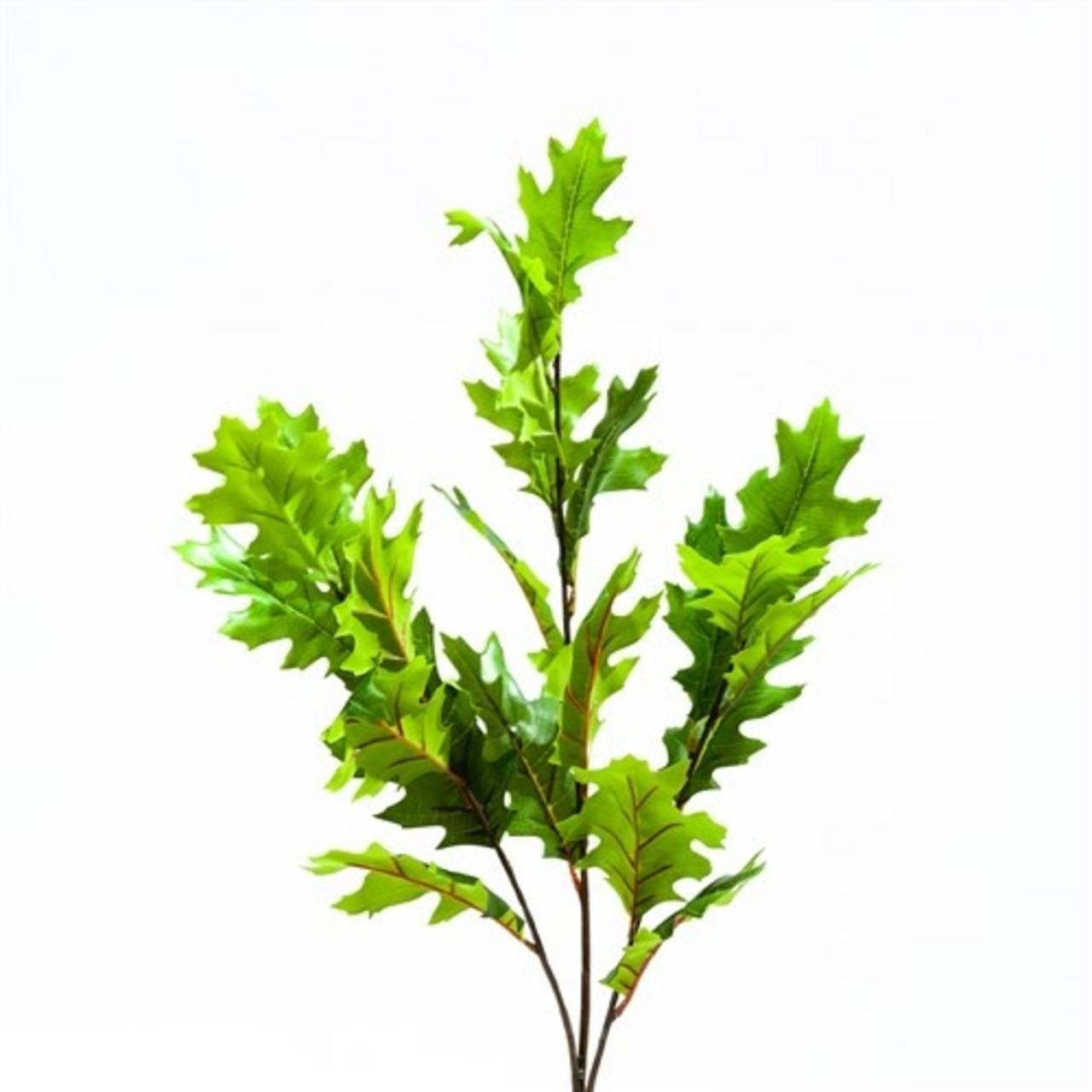 Amerikaans kunst eikenbladtak 100 cm groen