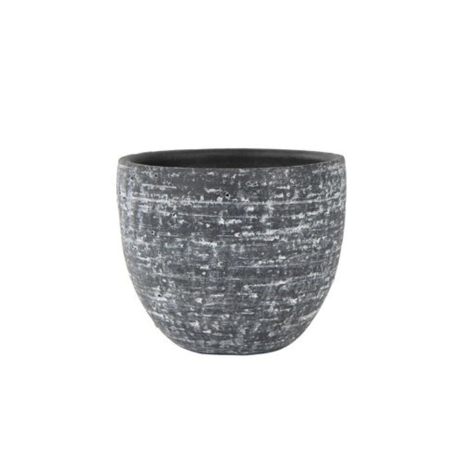 Raw stone Pot stone raw anthracite D22 H20