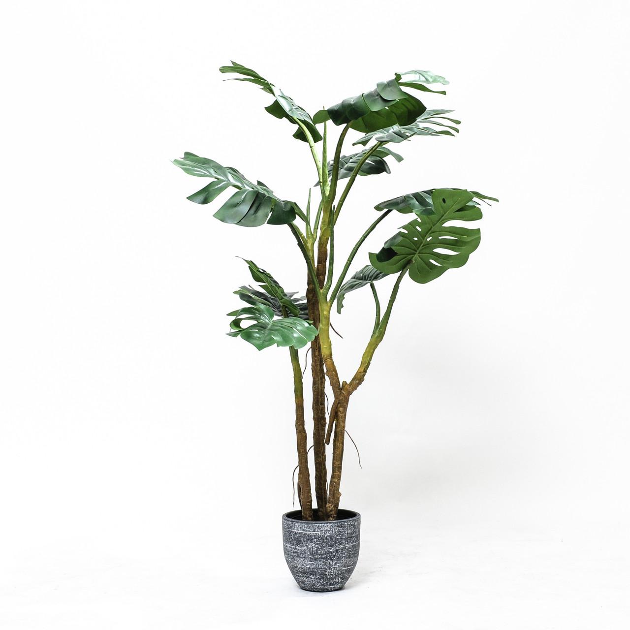 Kunst Monstera / Gatenplant 150 cm